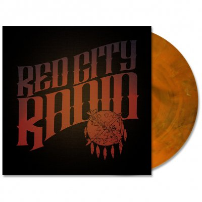 red-city-radio - Red City Radio LP - (Orange/Black Marble)