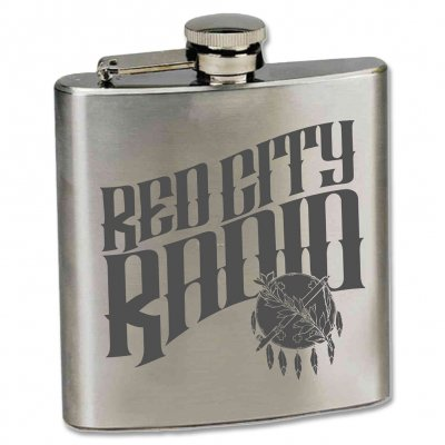 red-city-radio - Red City Radio Flask