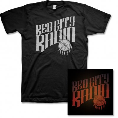 red-city-radio - Red City Radio CD & Album Tee
