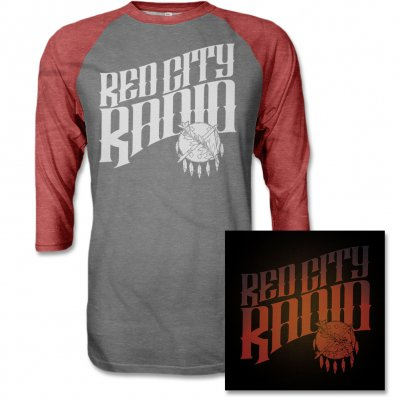 red-city-radio - Red City Radio CD & Album Raglan Tee