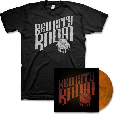 red-city-radio - Red City Radio LP & Album Tee