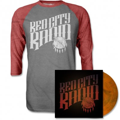 Red City Radio - Red City Radio LP & Album Raglan Tee