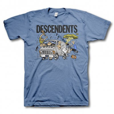 Descendents - Van Tee (Heather Blue)