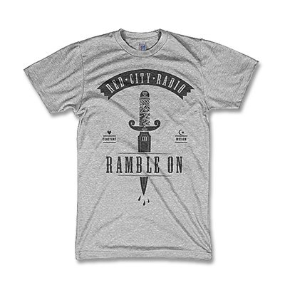 Red City Radio - Ramble On Dagger T-Shirt