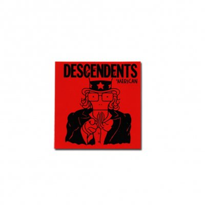 "Descendents - 'Merican Red Sticker (5"" x 5"")"