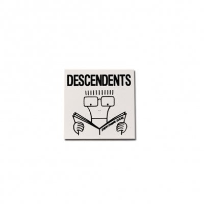 "Descendents - Everything Sucks Sticker (4"" x 4"")"