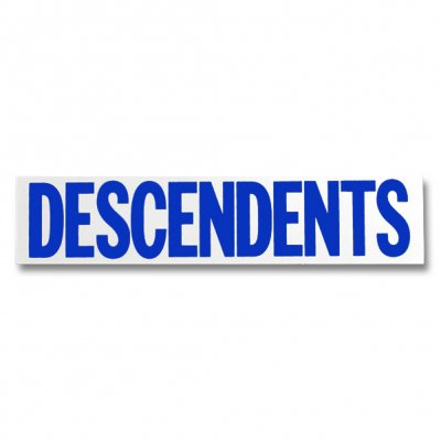 Descendents - Logo Sticker - Blue