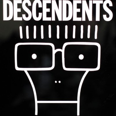 "Descendents - Milo Decal - Large (8"" x 8"")"