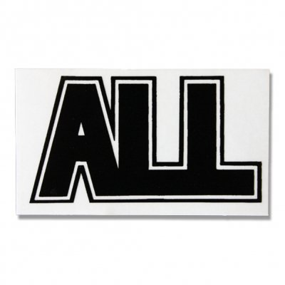 ALL - Logo Sticker (Black)