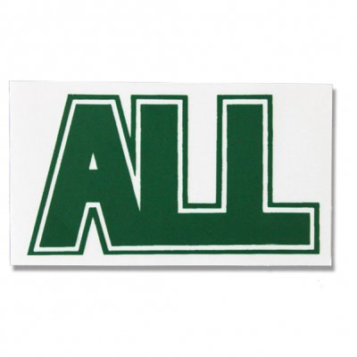ALL - Logo Sticker (green)