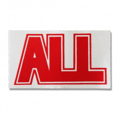 ALL - Logo Sticker (red)