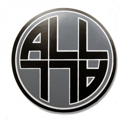 ALL - Circle Logo Sticker