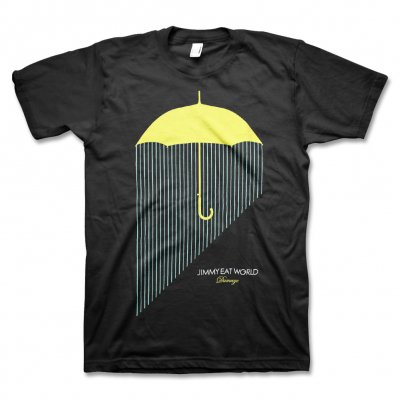Jimmy Eat World - Umbrella Tour T-Shirt (Black)