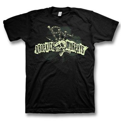 dropkick-murphys - Bagpipe Skeleton Mohawk