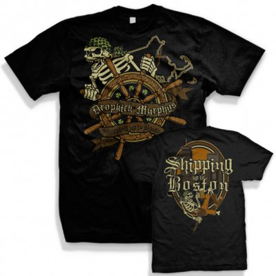 dropkick-murphys - Shipping Up To Boston Shirt