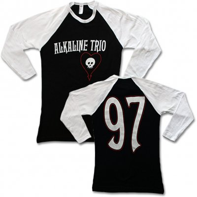 alkaline-trio - Baseball Tee (Blk Body/Wht Sleeve) - Women's