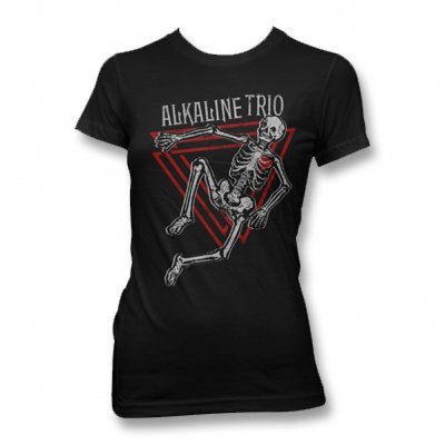Alkaline Trio - Skeleton Tee - Women's