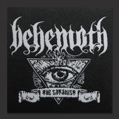 Behemoth - The Satanist Banner Patch