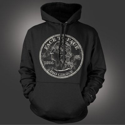 face-to-face - Big Choice Pullover Hoodie (Black)