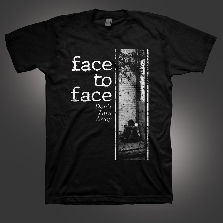 IMAGE | Don't Turn Away T-Shirt (Black)