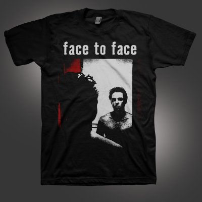 face-to-face - Self Titled T-Shirt (Black)