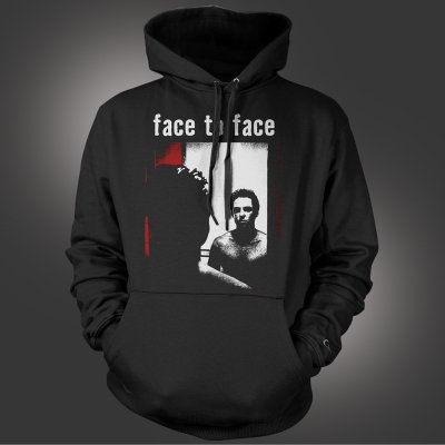 face-to-face - Face To Face Self Titled Pullover Sweatshirt (Blac