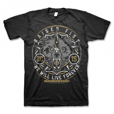 epitaph-records - Raised Fist Wolf T-Shirt (Black)
