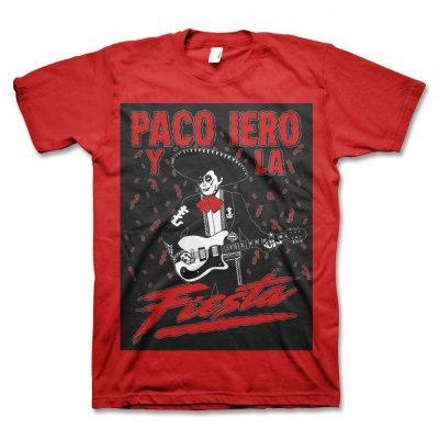 Frank Iero - Paco Iero Y La Fiesta T-Shirt (Red)