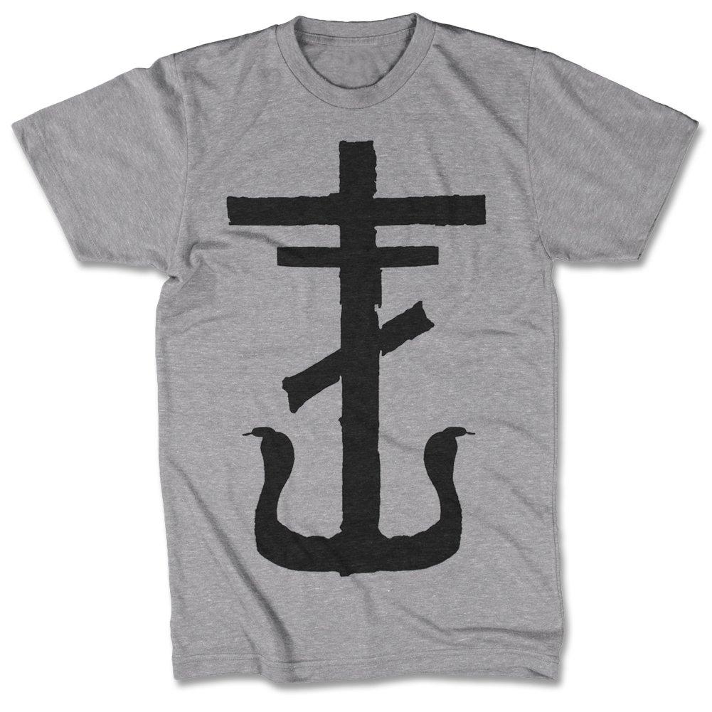 IMAGE | Cross T-Shirt (Heather Grey)