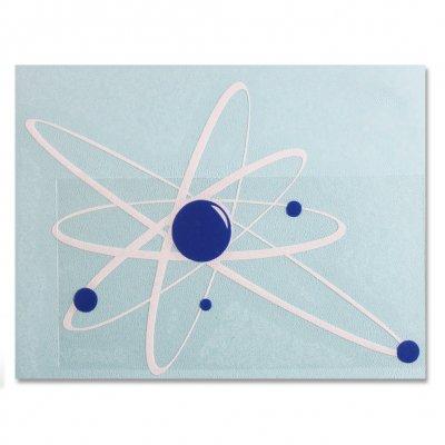 "Strung Out - Strung Out Regular Astrolux Sticker (White/Blue 6"""