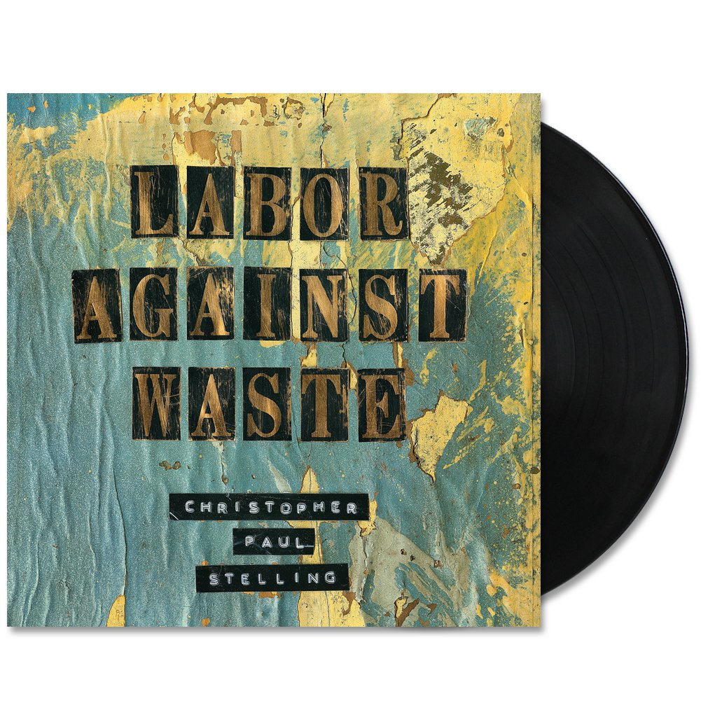 IMAGE | Labor Against Waste LP (Black)