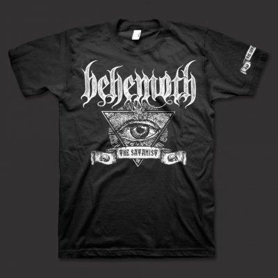 valhalla - Satanist Banner T-Shirt (Black)