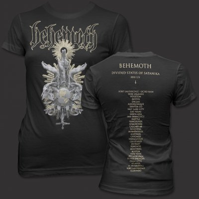 behemoth - Women's - Divided States of Satanika T-Shirt