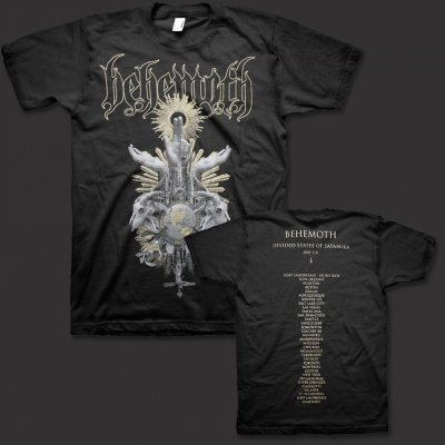 behemoth - Divided States of Satanika Tour T-Shirt (Black)