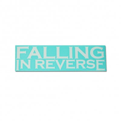 "Falling In Reverse - Logo Decal (3""x 9"")"