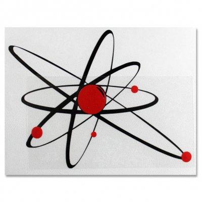 """Strung Out - Strung Out Big Ass Astrolux Sticker (Black/Red 16"""""""