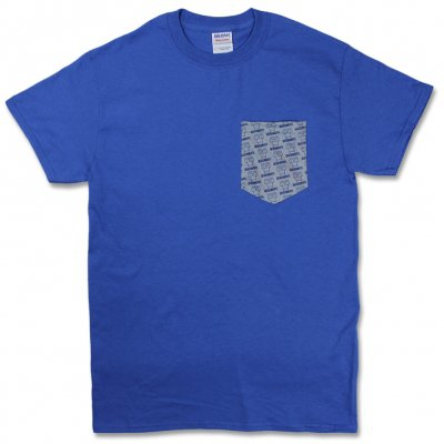 Descendents - Milo Pattern Pocket T-Shirt (Blue/Grey)