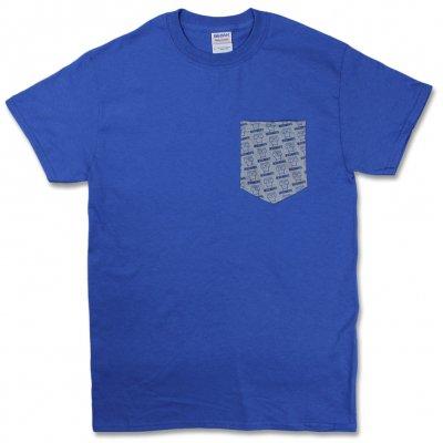 Descendents - Milo Pattern Pocket T-Shirt (Blue/Grey)