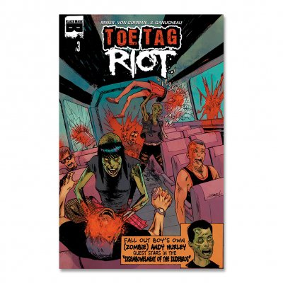 black-mask-studios - Toe Tag Riot Issue 3