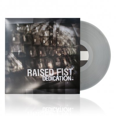 Raised Fist - Dedication LP (Silver)