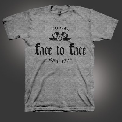 face-to-face - Stonebridge T-Shirt (Heather Grey)