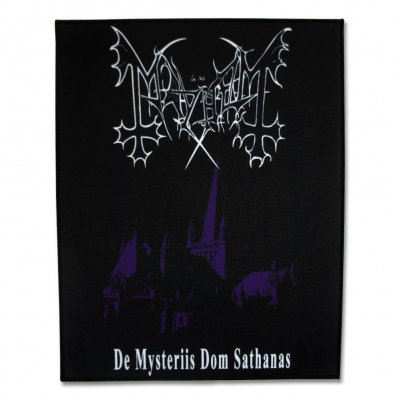 Mayhem - De Mysteriis Dom Sathanas Back Patch