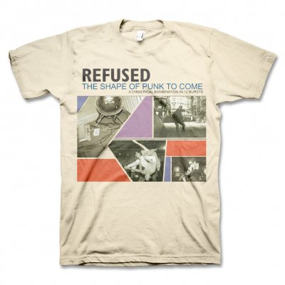 Refused - Shape Of Punk To Come Tee (Natural)