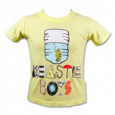 beastie-boys - Seahorse Youth Tee (Yellow)