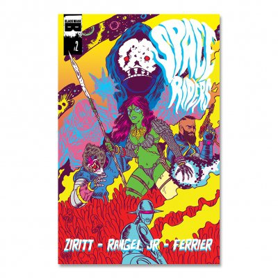 Space Riders - Space Riders - Issue 2