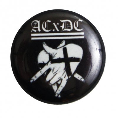 "ACxDC - Hands Button (1"")"