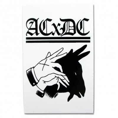 ACxDC - Shadow Hands Sticker (3x4)