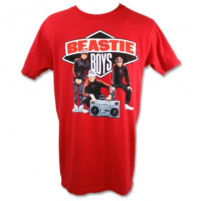 Beastie Boys - Solid Gold Hits Tee (Red)