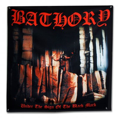"Bathory - Under The Sign Of The Black Mark Flag (48"" x 48"")"