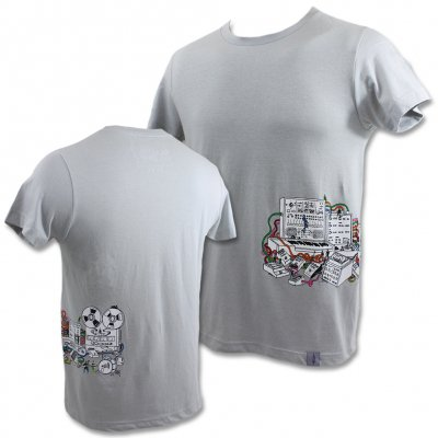 beastie-boys - Silver Sided Machine Tee (Silver)
